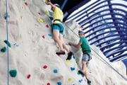 Epic Climbing Wall Couple